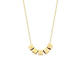 Just Franky Cube Necklace | 5 cubes