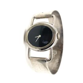 Occasion zilveren Création Teeny damespols horloge