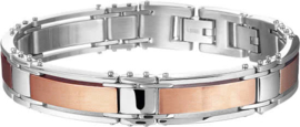 The Jewelry Collection For Men - Herenarmband - 11 mm 19 + 1,5 cm - Staal