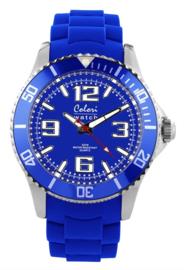 Colori 5-COL050 - Horloge - Blauw - Ø 44mm