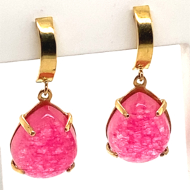 Cataleya Earrings Beau Monde Spring Pink