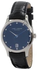 Lars Larsen Dames horloge 139SBLBL