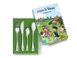 Kinderbestek 4-delig Fien & Teun