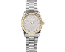 IKKI BRONX BX06 Horloge - Zilver/Goud