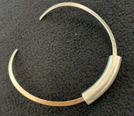 Occasion zilveren spang modern