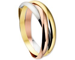 Sparkle14 Ring 3-in-1 - Goud- maat 18