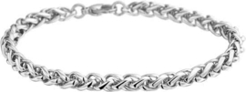 The Jewelry Collection Armband Palmier - Staal