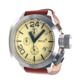 Max XL Watches polshorloge cognac kleur