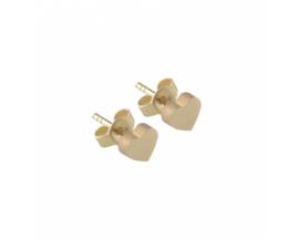 Just Franky Capital Earring Heart Pair
