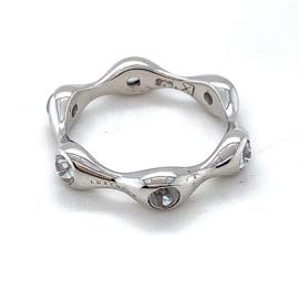 Nieuwe Luxenter ringen met witte zirkonia stenen
