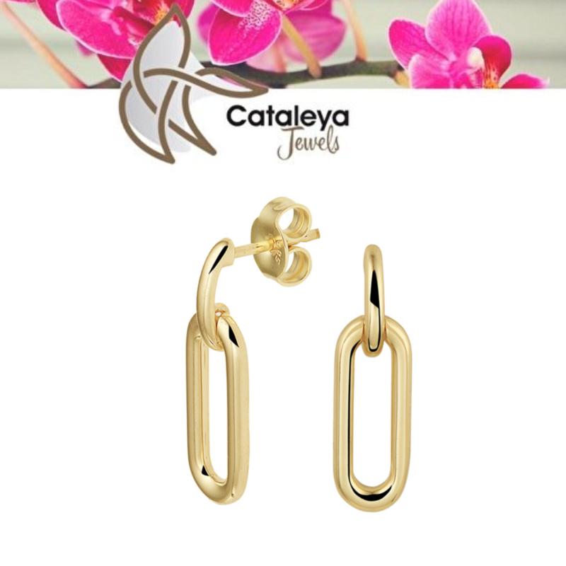 Cataleya jewels oorhangers