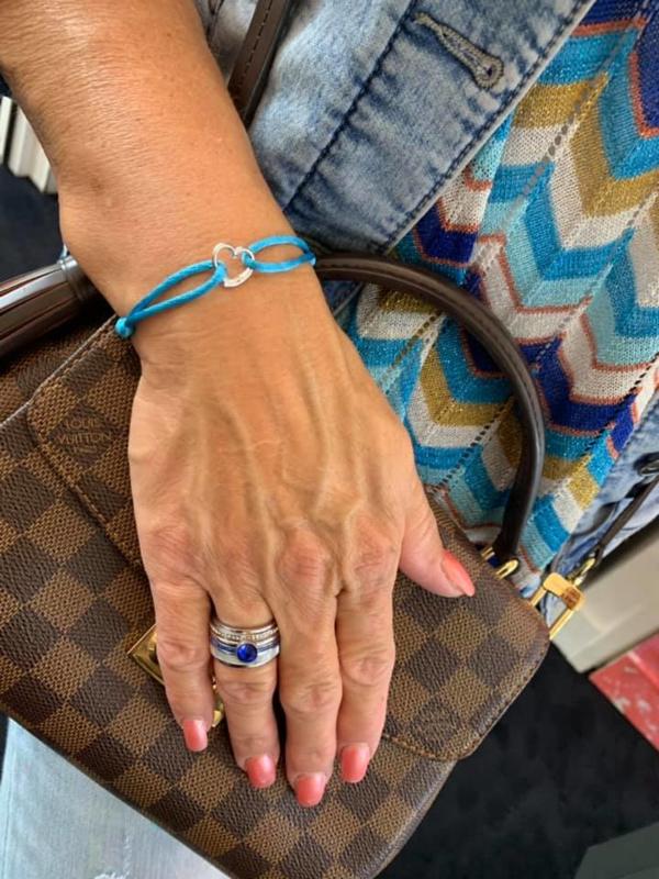Cataleya Jewels -  Mi Amor - witgoud - armband
