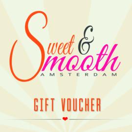 Sweet & Smooth Cadeaubon €10