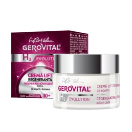 Gerovital H3 Evolution Regenerating Lifting Cream 30+ Night care 50 ml