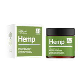 Dr Botanicals Hemp Infused Natural Nutrition Moisturiser 50ml