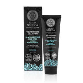 Natura Siberica Black Cleansing Face Mask