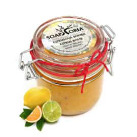 Soaphoria Citrus Bomb - Organic body peeling