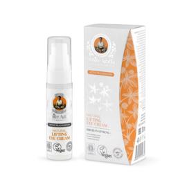 White agafia natural lifting eye cream 30ml