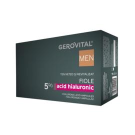 Gerovital Men Ampullen met Hyaluronzuur 5%