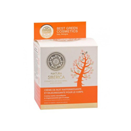Natura Siberica Firming and Rejuvenating Night Body Cream