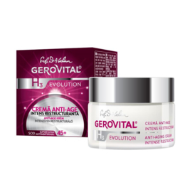 Gerovital Evolution Anti-Aging Cream Intense Restructuring SPF10 45+ 50ml