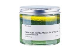 Sabio Dode Zeezout en Spirulina Natuurlijke Body Scrub