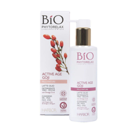Phytorelax Bio Active Age Goji  Cleansing Oil - Milk 200ml