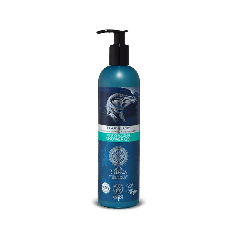 Natura Siberica Faroe Islands Deep Cleansing Shower Gel 400ml
