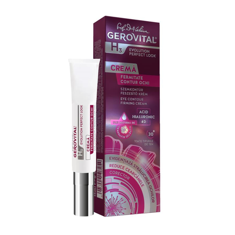 Gerovital H3 Evolution Perfect Look Eye Contour Firming Cream