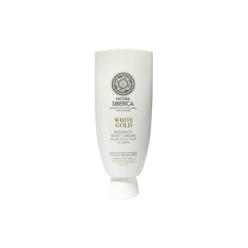 Natura Siberica Radiance White Gold Body Cream