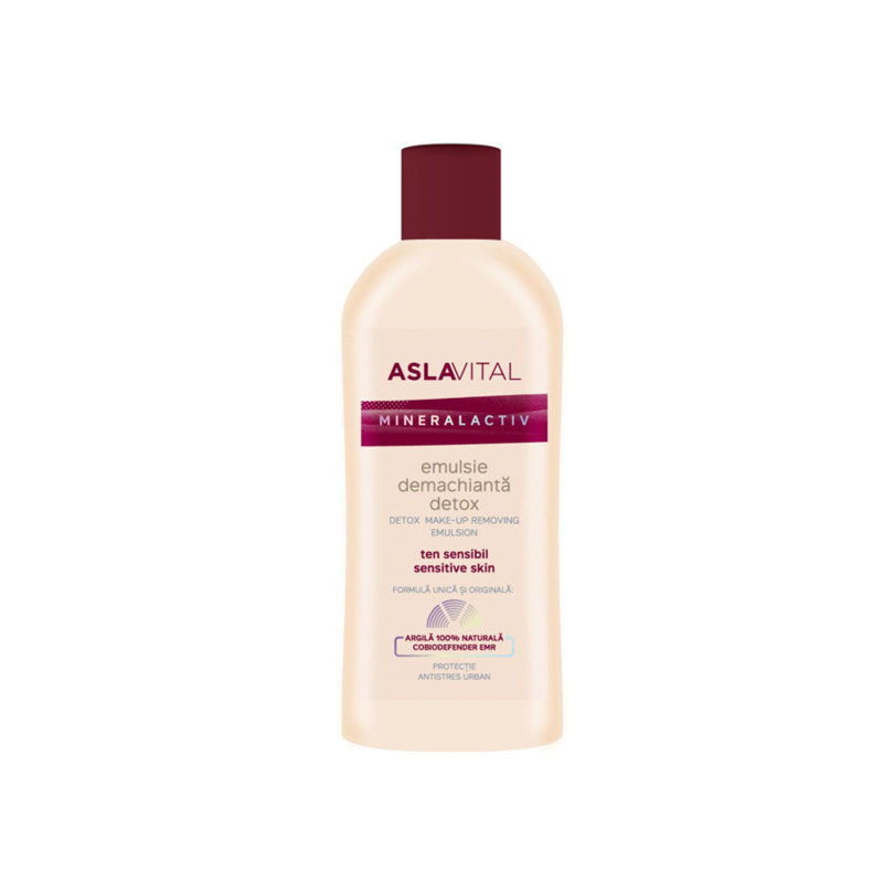 Aslavital Mineralactiv Detox Make-up Remover 150 ml