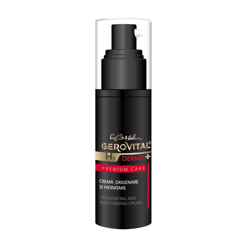Gerovital H3 Derma+ Premium Care Oxygenating & Moisturizing Cream