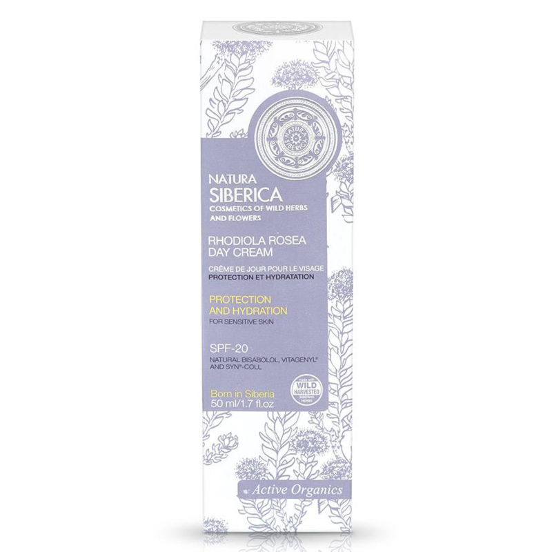 Natura Siberica Rhodiola Rosea Day Cream 50ml