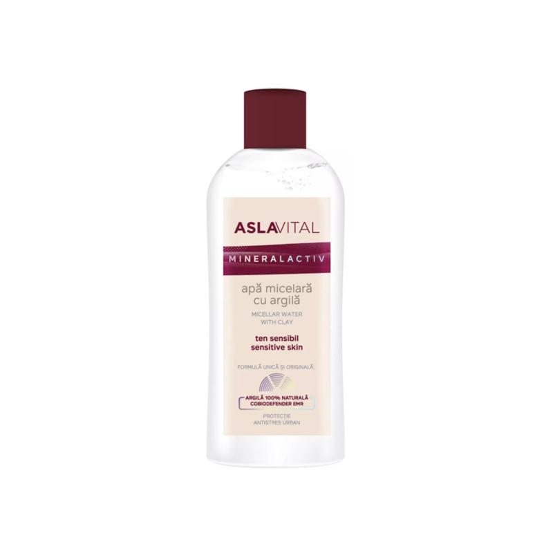 Aslavital Mineralactiv Micellar Water met klei 150 ml