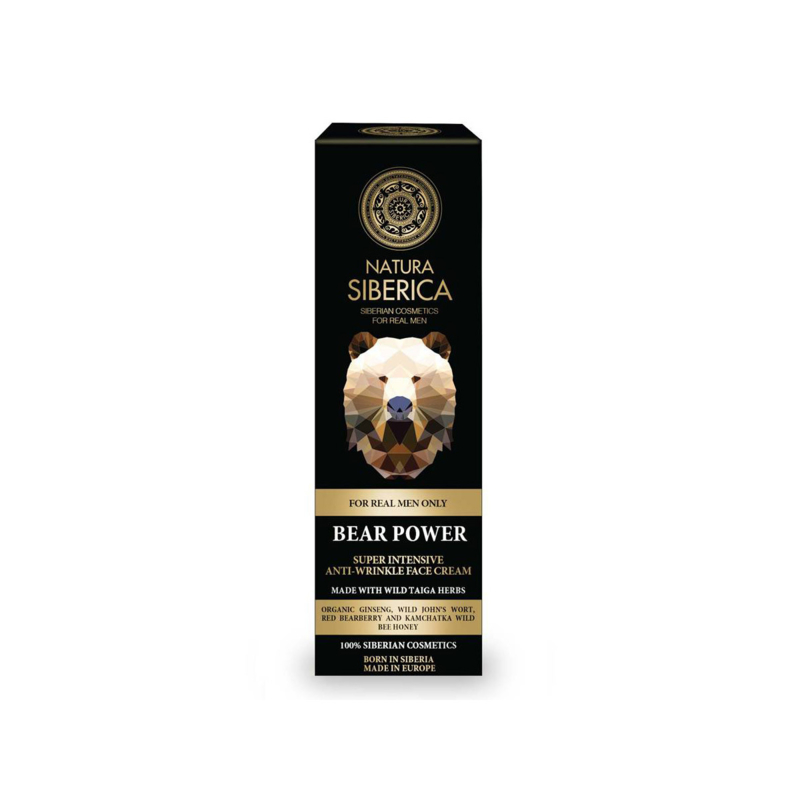 Natura Siberica Bear Power Anti Wrinkle Cream 50ml
