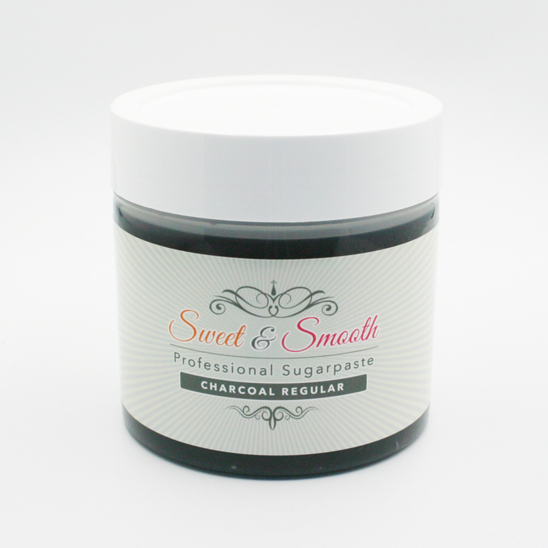 Sweet & Smooth Sugarpaste Charcoal 600g