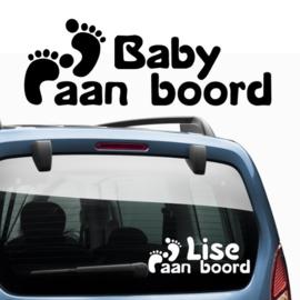 Baby aan boord: Voetjes