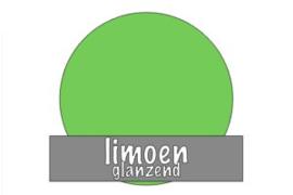 Vinyl: limoen - glanzend