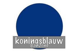 Stickervel 30 cm x 50 cm : Koningsblauw (glanzend)