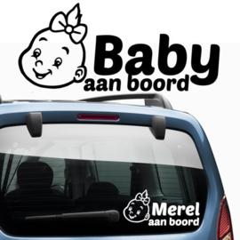 Baby aan boord: Baby meisje