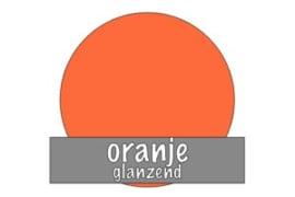 Vinyl: oranje - glanzend