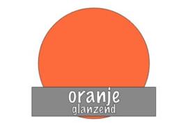 Stickervel 30 cm x 50 cm : Oranje (glanzend)