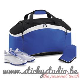 Sporttas: Blauw zonder opdruk