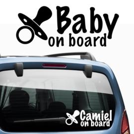 Baby aan boord: Fopspeen