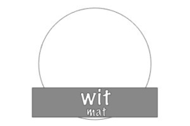 Vinyl: wit - mat