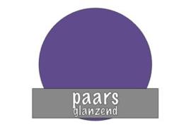Vinyl: paars - glanzend