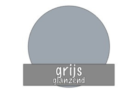 Vinyl: grijs - glanzend