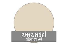 Stickervel 30 cm x 50 cm : Amandel (glanzend)
