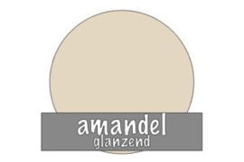 Vinyl: amandel - glanzend