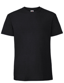 T-Shirt Premium: Ringspun Premium T - M - Zwart